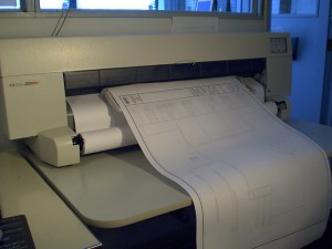 Large Format Plotter - CAD printing