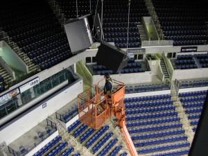 Image of audio equipment repair