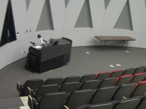 Athletics Center - auditorium