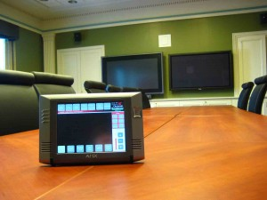 Control Panel with videoconferencing system