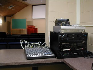 Mixer in Youth Sanctuary