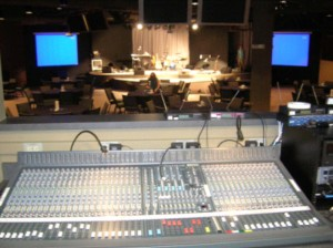 Main Sanctuary Mixing Console