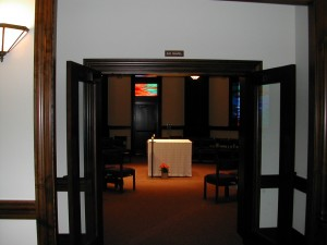 Entrance to Main Sanctuary