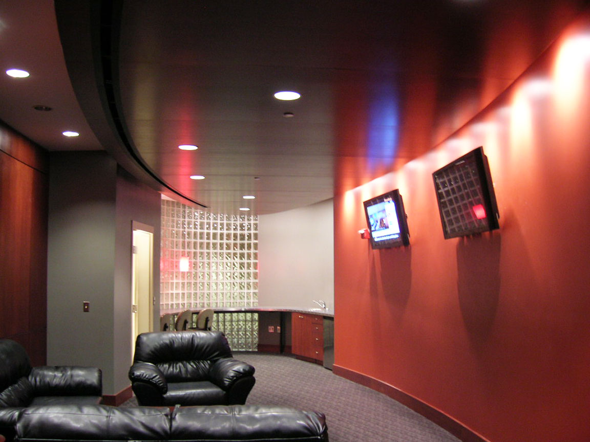Lounge and Suites with Sound and Video distribution