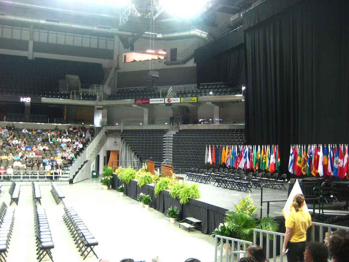 Stage in the Arena