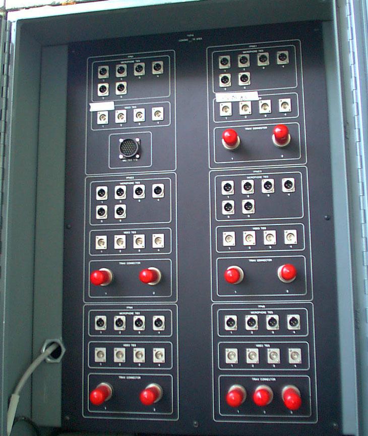 Satellite Truck Panel