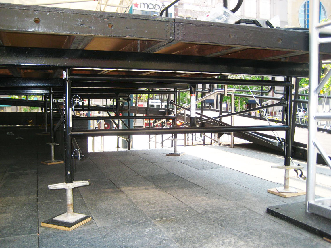 The understage structure