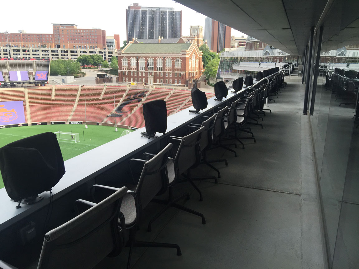 Personal TVs are uncovered for games