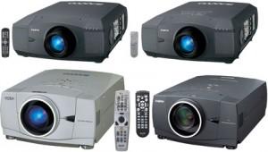 Various Projectors