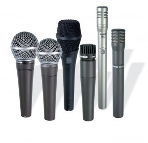 Various Microphones