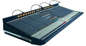 Large Analog Mixing Console