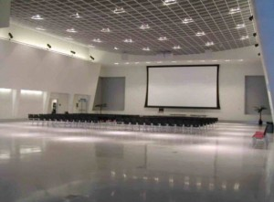 Great Hall Projection Screen