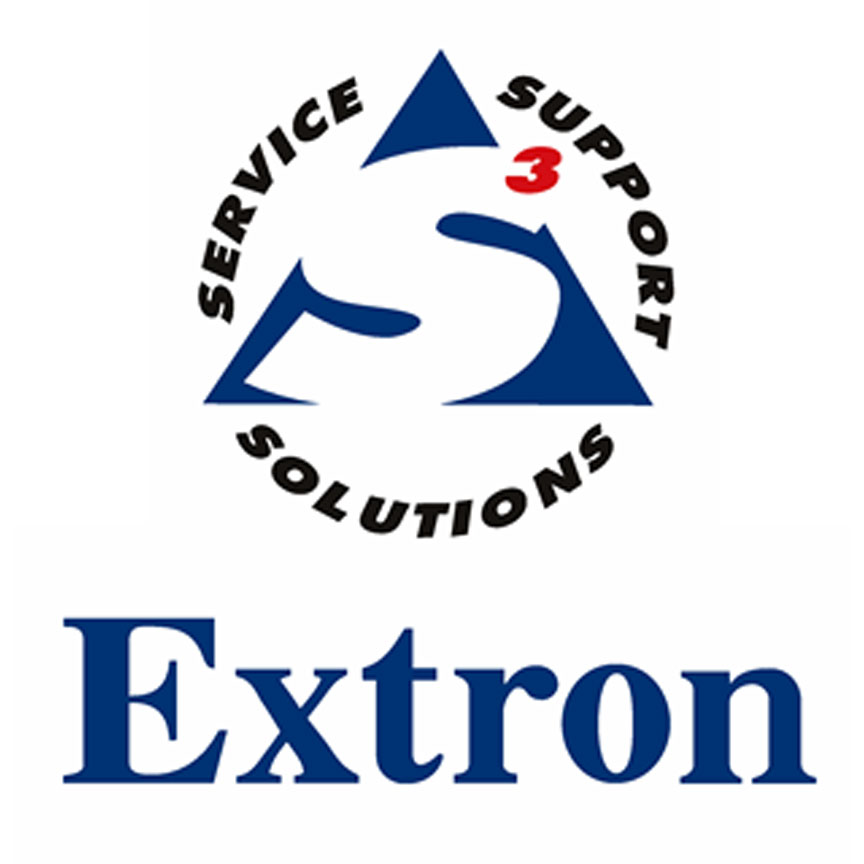 Extron Audiovisual matrices, processors, switchers, and control.