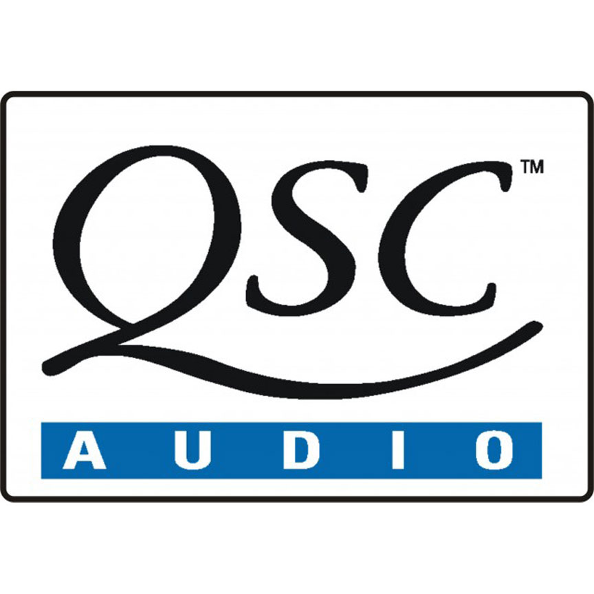 QSC audio amplifiers and control